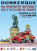 Rencontre nationale des 2cv clubs de france 13 mai