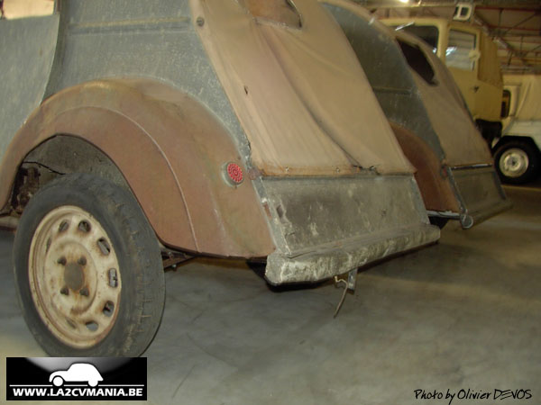 la 2cv mania  citroen 2cv prototype tpv 1939
